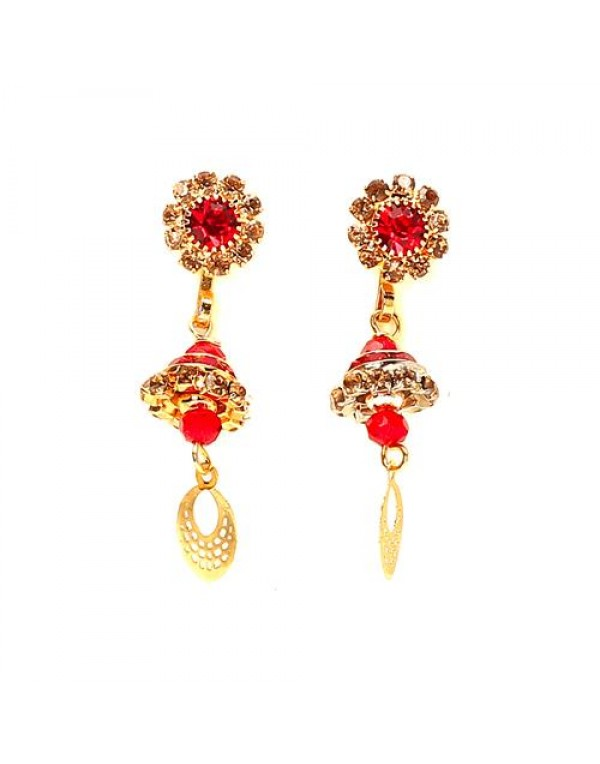 Red Store Earring