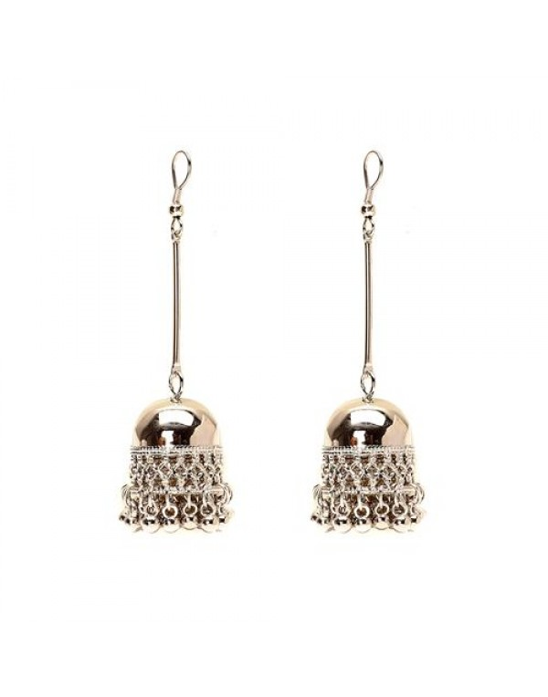 Long Jhumki Earring
